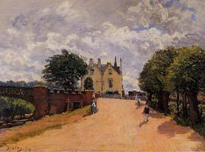 gfm-painting-handmade-oil-painting-reproductions-of-inn-at-east-molesey-with-hampton-court-bridge-18