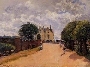 gfm-painting-peinture-lhuile-reproductions-de-inn-at-east-molesey-with-hampton-court-bridge-1874-pei