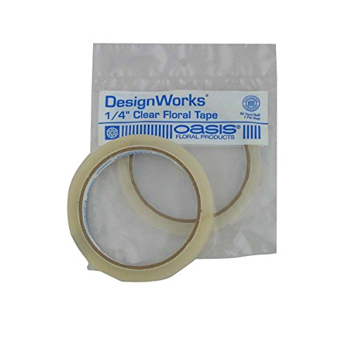 Oasis Clear Floral Tape - 1/4w 60 yrd. Roll by Smithers Oasis (Florist Oasis compare prices)