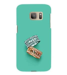 ifasho Designer Phone Back Case Cover Samsung Galaxy S7 Edge :: Samsung Galaxy S7 Edge Duos :: Samsung Galaxy S7 Edge G935F G935 G935Fd ( Colorful Pattern Design )
