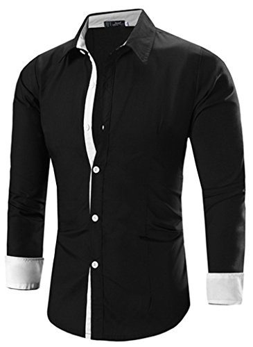 Inner the men shirts for Tom s ware mens premium casual inner contrast dress shirt