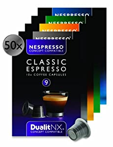 Shop for Dualit NX Nespresso Compatible Variety Pack - 50 Capsules by Dualit