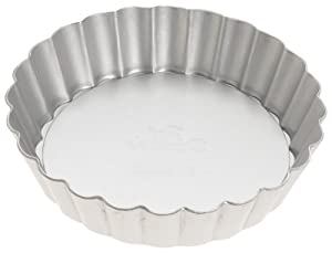 Fat Daddio's 4 1 4-Inch Removable Bottom Mini Tart Pan by Fat Daddios