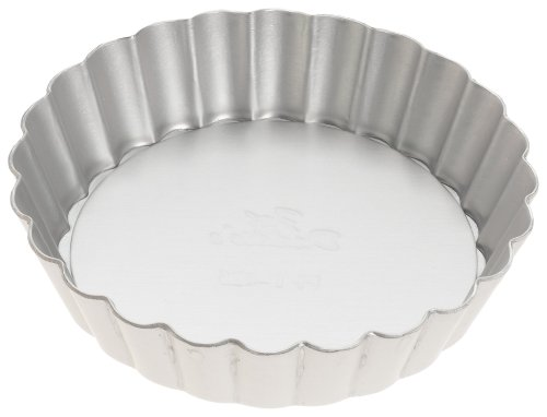 Fat Daddio's 4 1/4-Inch Removable Bottom Mini Tart Pan