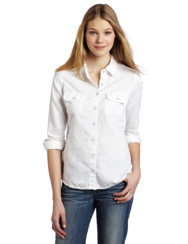AG Adriano Goldschmied Women's Dakota Denim Shirt