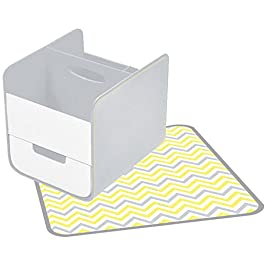 Koo-di Boite pour Couches Caddy Mellow Yellow Essential