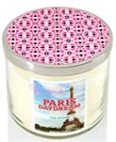 Bath and Body Works - 3 Wick Candle Paris Daydream 14.5 Oz With Decorative Lid
