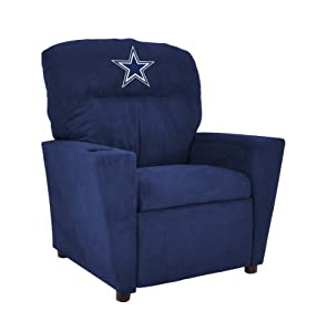 NFL Dallas Cowboys Tween Microfiber Recliner