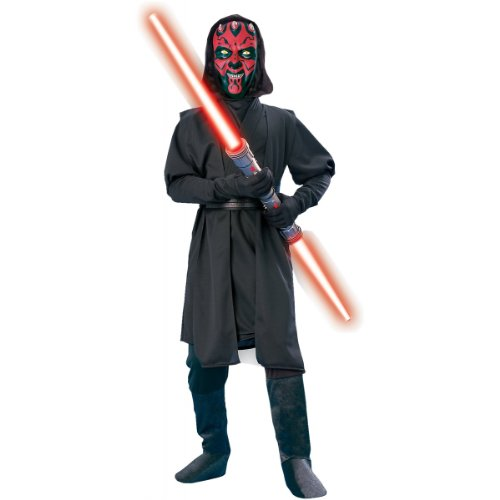 Deluxe Darth Maul Costume - Small front-507653