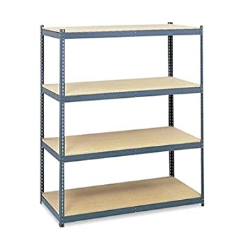 "Safco - Steel Pack Archival Shelving 69W X 33D X 84H Gray ""Product Category: Office Furniture/Bookcases & Door Kits"""