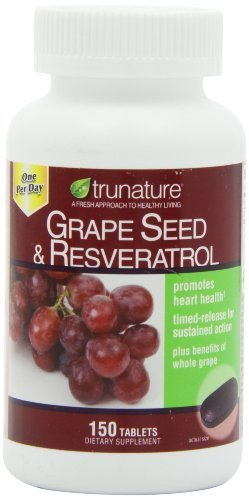 trunature® Grape Seed & Resveratrol,  Vitamin