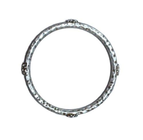 Sterling Silver Verde Bangle Bracelet