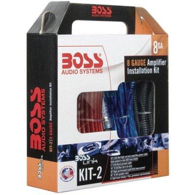 Boss Kit2 8 Ga Car Audio Amplifier Amp Wiring Kit 8 Gauge