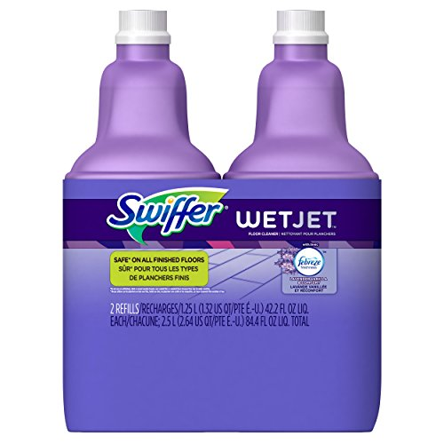 Swiffer 2 Pack Swiffer Wet Jet Multi Purpose Cleaner with Febreze, lavendar vanilla & comfort (Jet Cleaner compare prices)