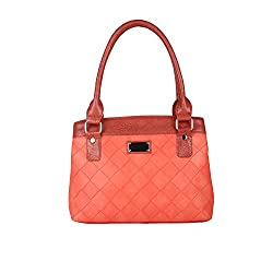 Hide Bulls Casual Pu Handbags For Women in Color Orange