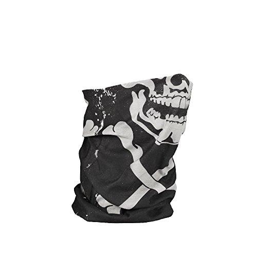 Zan Headgear T227, Motley Tube, Polyester, Skull and Crossbones