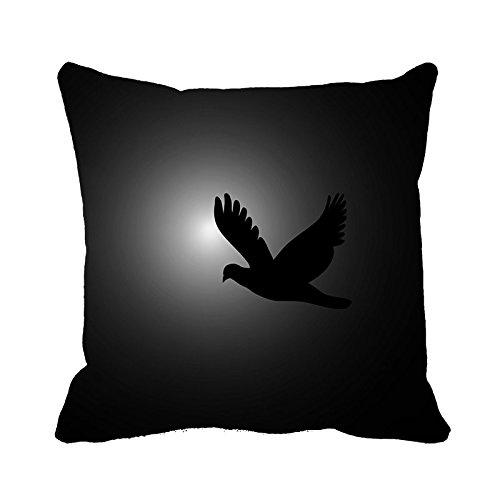 yinggouen-uccello-nero-decorate-per-un-divano-federa-cuscino-45-x-45-cm