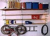 TidyGarage SS4X4 Heavy Duty Shelf Kit 4 Level with Side by Side Shelves