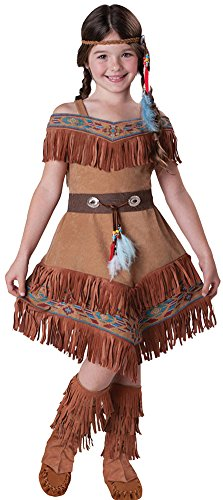 Girls - Indian Maiden Kids Costume 6 Halloween Costume - Child 6