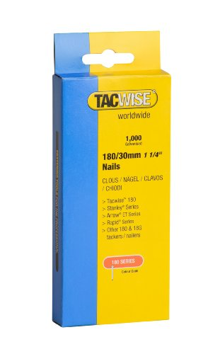 Tacwise 180 Type 30mm Heavy Duty Nails (1000 Pieces)