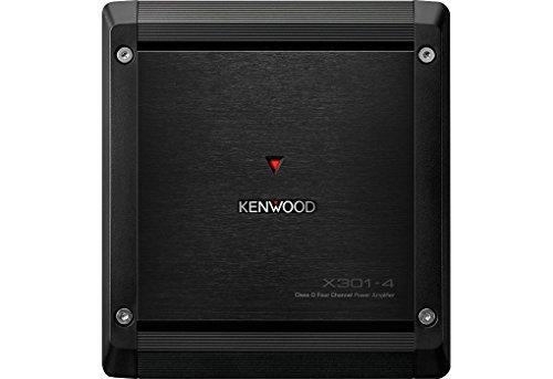 Kenwood-X301-4-Class-D-4-Kanal-Endstufe-mit-2-Ohm-Laststabilitt-schwarz