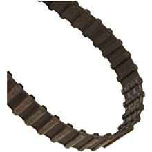 "Goodyear Engineered Products Dual Positive Drive Belt, Trapezoidal Tooth Profile, 0.500"" Pitch, H (Heavy) Profile, Inch"