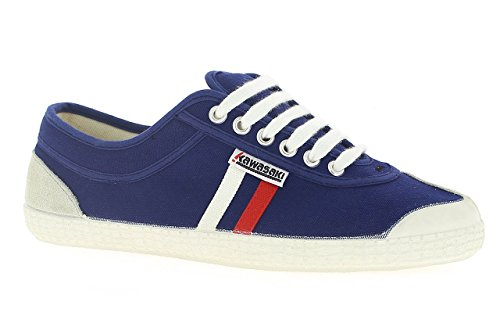 Kawasaki - Rainbow Retro, Sneakers unisex, color Blu (Navy, 90), talla 43