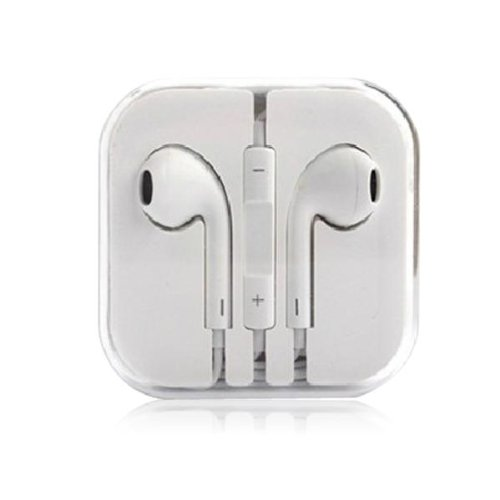 Thinkcase 3.5Mm Earphone Earbud Headphones With Remote & Mic For Iphone 4S 5 5C Ipod Ipad15#