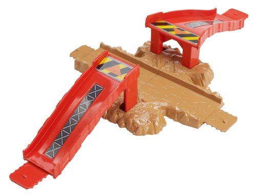Hot Wheels Track Builder Crossroad Crash Stunt Pack - 1
