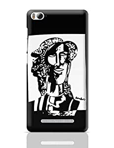 PosterGuy Xiaomi Mi 4i Case Cover - Alone But Not Lonely Painting Art, Sketch,Painitng, Portrait, Illustration