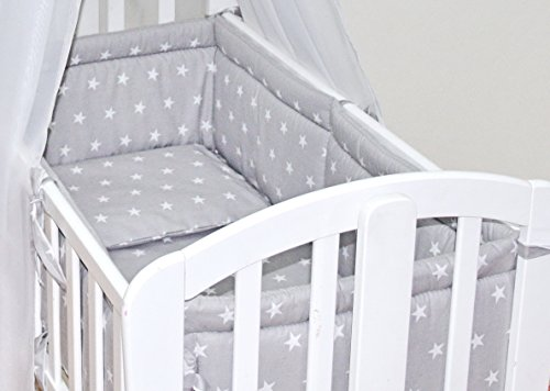 6pcs-baby-swinging-rocking-crib-cradle-bedding-set-all-round-bumper-100-cotton-grey-stars