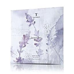Thymes Bath Salt Envelopes 2.0 oz. Set of 6 - Lavender