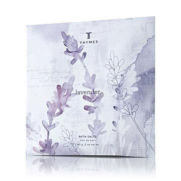 Thymes Bath Salt Envelopes 2.0 oz. Set of 6 - Lavender (Thymes Bath Salts compare prices)