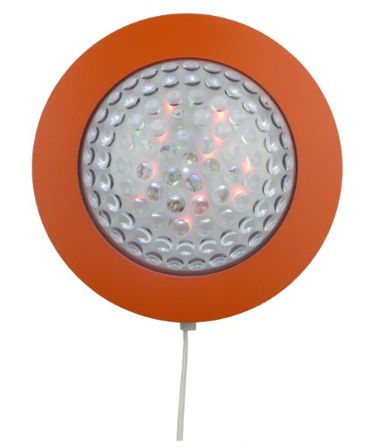 Niermann Standby LED Table Wall Lamp Prisma, Orange