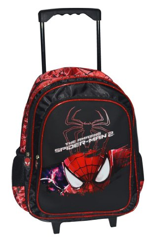 Simba Simba Spider Red Trolley, Multi Color (16-Inch) (Multicolor)