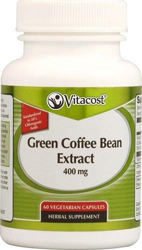 Vitacost Green Coffee Bean Extract -- 400 Mg - 60 Vegetarian Capsules