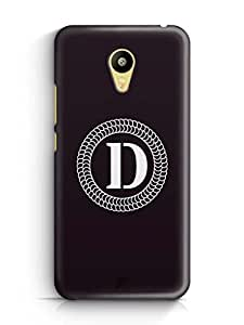 YuBingo Monogram with Beautifully Written letter D Mobile Case Back Cover for Meizu M3