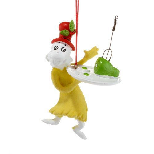 Dr. Seuss Sam with Green Eggs and Ham Ornament