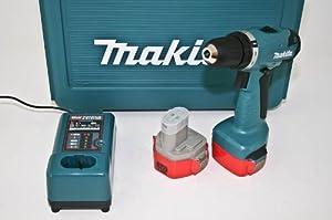 Makita 6281 DWPE 14,4 V Bohrschrauber mit 2 Makita 1,3 Ah Akkus, LAdegerät, Koffer  BaumarktKritiken und weitere Informationen