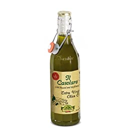 Il Casolare Unfiltered Extra Virgin Olive Oil, 33.8 Ounce