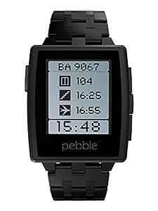 Pebble Steel Smart Watch - Black Matte