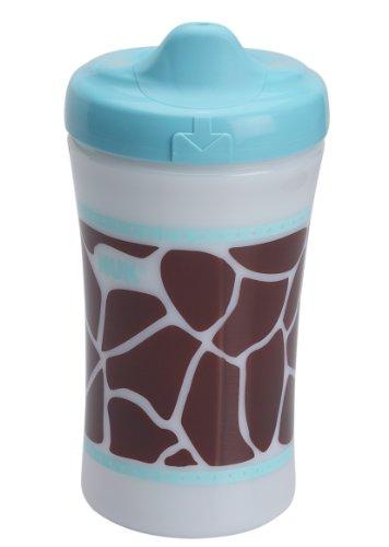 Gerber Graduates Advance Developmental Hard Spout Cup Animal Skins Design 10oz 12m+ (Teal)
