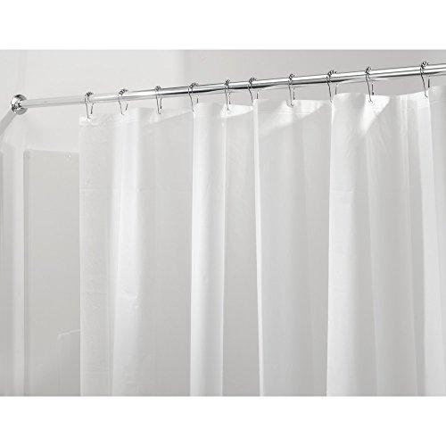 InterDesign Mildew-Free PEVA 3 Gauge Shower Liner, X-Wide 108 x 72, Frost (Peva Gauge Shower Liner X compare prices)