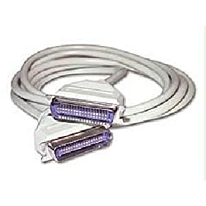 C2G / Cables to Go 02679 Centronics 36 Male/Female Extension Cable, Beige (10 Feet/3.04 Meters)