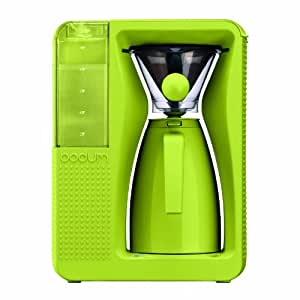 BODUM 11001-565US Bistro B. Over Automatic Pour-Over Electric Coffeemaker, 1.2-Liter