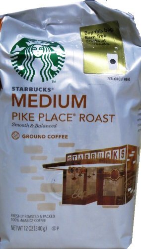 Starbucks Pike Place® Roast, Ground Coffee (12oz)