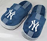 New York Yankees MLB Team Stripe Slide Slippers
