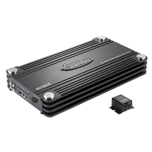Lanzar Dct5001D 5000 Watt Digital Mono Block Half Ohm Stable Power Amplifier front-992329