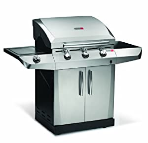 Char-Broil TRU Infrared 3-Burner Gas Grill with Side burner
