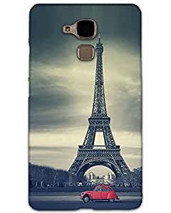 WEB9T9 Huawei Honor 5C Back Cover Designer Hard Case Printed Cover